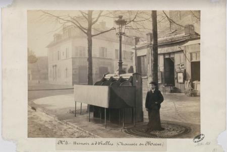 Toilettes publiques de 1860 à nos jours