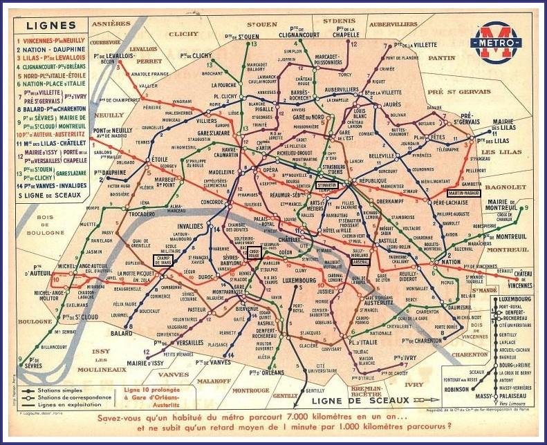 Le vrai plan du métro : Le Quartier Bel-Air Sud