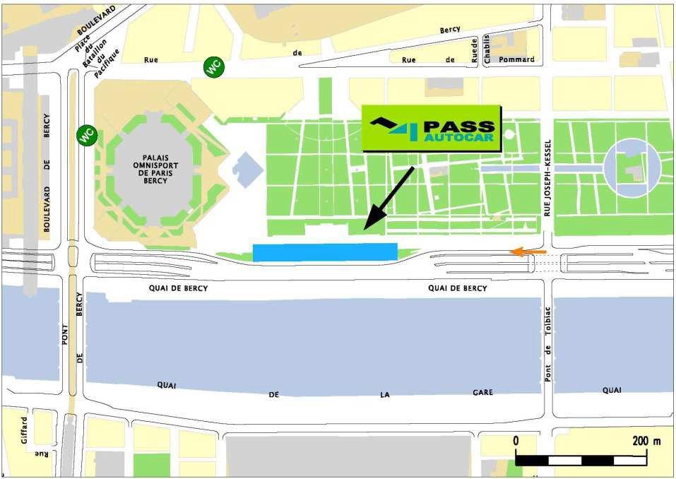 le plus grand parking pour autocars est dans le 12e le quartier bel air sud. Black Bedroom Furniture Sets. Home Design Ideas