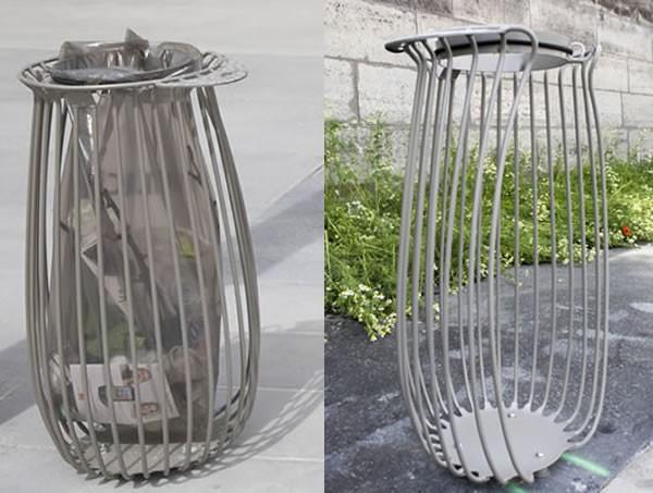 des nouvelles poubelles de rue l 39 essai le quartier bel. Black Bedroom Furniture Sets. Home Design Ideas