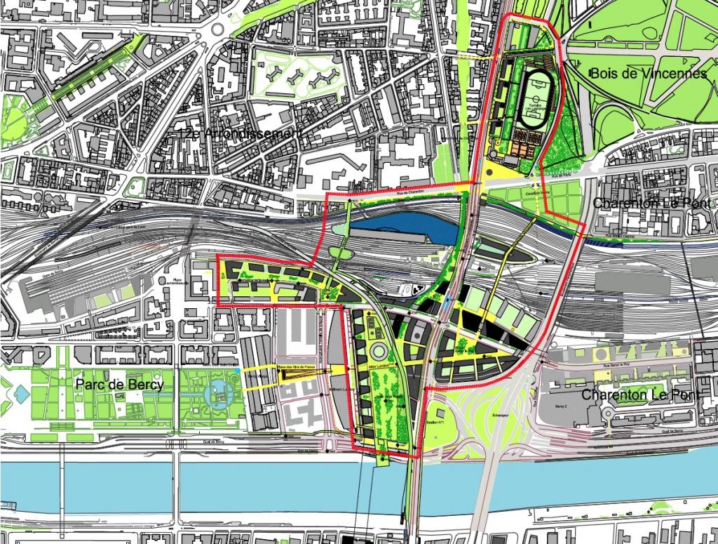 Bercy charenton d passe les bornes le quartier bel air sud - Stade leo lagrange porte de charenton ...
