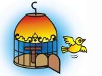 oiseaux-hors-de-l-illustration-vecteur-cage-la-et-piloter-librement-143275385.jpg